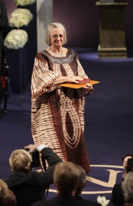 Elinor Ostrom receives the Nobel Prize